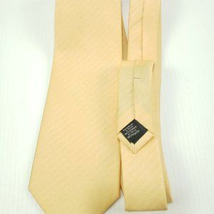 Croft & Barrow Men's Polyester Neck Tie Yellow/Wh